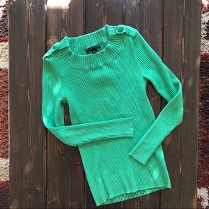 Banana Republic Green Sweater